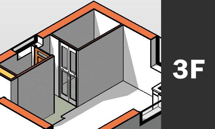 CADで作成した3D画像 水回り